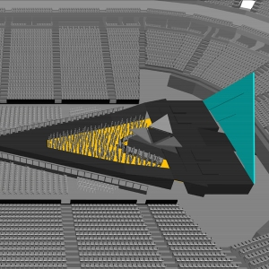 A closer look at the reflective stage (Source: KatyPerry.com).
