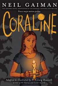 Coraline: The Graphic Novel (Source: Amazon.com)