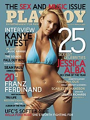 """Don't put me on that cover!"" Actress Jessica Alba's controversial Playboy cover (Source: People.com)"